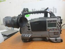 PANASONIC DVCPRO AJ-D610WAP Camera Camcorder w/  Panasonic AJ-VF20WP viewfinder
