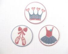 12 PRE CUT EDIBLE RICE WAFER PAPER CARD BALLET DANCER BALLERINA PRINCESS TOPPERS