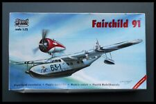Vintage SWORD 2001 FAIRCHILD 91 1/72 Scale SW 72013 Model Kit Sealed Bag