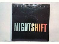 "COMMODORES - NIGHTSHIFT / I KEEP RUNNING- SINGLE 7"" - UK - 1984(MB+/VG+- EX/NM)"