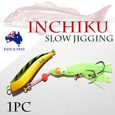 90g Inchiku Jig Micro Octo Jigs Fishing Lure Jigging Ship Snapper King Pirate