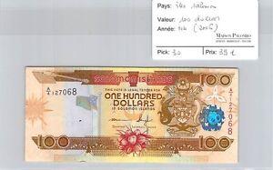 BILLET ILES SALOMON - 100 DOLLARS - ND (2006)