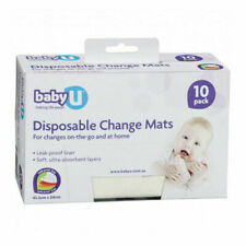Baby U Disposal Change Mats - 10 Pack