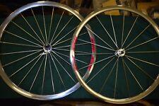 RIGIDA DP18 wheel Set 700c 28'' sealed bearing hub 8sp Aero spoke mirror rim NOS