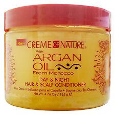[CREME OF NATURE] ARGAN OIL DAY&NIGHT HAIR & SCALP CONDITIONER 4.76OZ DRESS