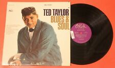 """TED TAYLOR """"Blues and Soul"""" 1965 High Grade RARE NORTHERN SOUL LP on OKEH - NM"""