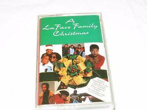 A LaFace Family Christmas Arista sleigh ride silver bells Cassette tape RARE