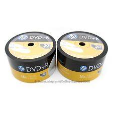 500 HP 16x Blank DVD-R DVD Plus R Recordable Disc Media 4.7GB