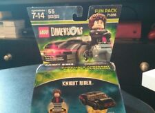 LEGO DIMENSIONS KNIGHT RIDER MINIFIGURE WITH KITT CAR 71286 NEW FREE SHIPPING