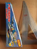 F-16 Fighter Air Force Like Tin Juguete Tekno GIODI Vintage New