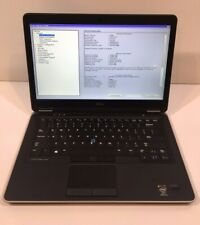 "Dell Latitude E7440 14"" Laptop - i7-4600u CPU 8GB RAM 256GB SSD WIN 10"