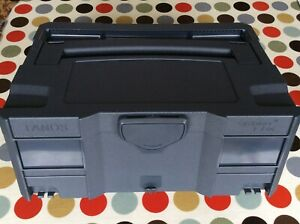 TANOS T-LOC SYSTAINER ANTHRACITE GREY 395 x 295 x 165