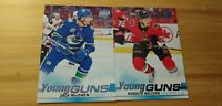 2019/20 Upper Deck Young Guns Lot: Rudolfs Balcers#218 & Zack MacEwen#244