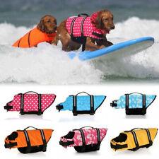 Pet Swimming Safety Vest Dog Life Jacket Reflective Stripe Lifesaver Vest