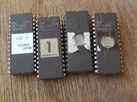 4 PC nec d27128d ic chip  EPROM C5-8
