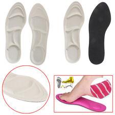 1 Paar 4D Schwamm weiche Einlegesohle Sport High Heel Schuhe Relief Inser ZF MD