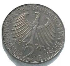 PIECE 2 MARK 1958 J. - ALLEMAGNE / GERMANY - Max Planck - Deutsche mark