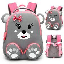 Mochila escolar para niñas con diseño de animales bonitos, mochilas para niños,