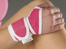 Vulkan Pink Wrist Wrap Thumb Loop Support Carpal Tunnel Injury Ladies Brace OSFM