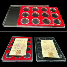 27mm Coin Capsule Collection Box Protect Display Case Storage Organizer Holder