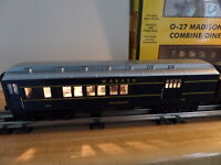 Rail King  MTH Wabash 2-car O-27 Madison Passenger Set