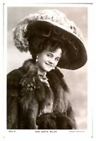 Antique RPPC postcard Miss Gertie Millar actress singer musical stage theatre