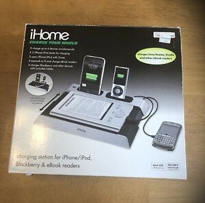 iHome Charge Your World ib967 for iPhone iPod BlackBerry & eBook Reader (New)