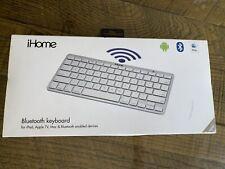iHome Wireless Bluetooth Keyboard for MAC in Silver