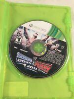 WWE Smackdown vs Raw 2011 Microsoft Xbox 360