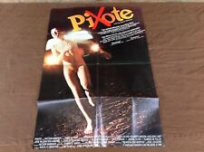 1981 Pixote Original Movie House Full Sheet Poster