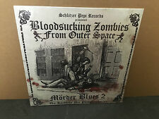 BLOODSUCKING ZOMBIES FROM OUTER SPACE mörder blues 2 LP oop bzfos sealed /500