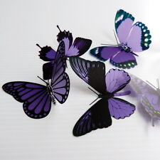 50 Pack Butterflies - Purple - 5 to 6 cm - Cakes, Weddings, Crafts, Cards,