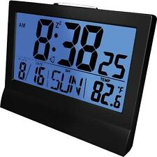 Coby Cbc-51-Blk Awake Led Alarm Clock