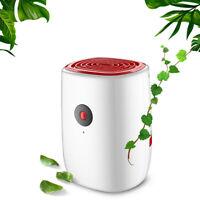 800ML Portable Mini Dehumidifier Moisture Absorber Air Dry Water Tank For Home