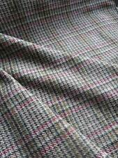 Scottish Tweed Pure New Wool Fabric- Estate Check- Nettle- By the Meter