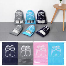 Portable Drawstring Shoes Bag Waterproof Travel Tote Organizer Pouch Storage Bag