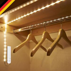 LED Lichtleiste Lichtband Streifen Stripe Beleuchtung mit PIR Bewegungsmelder DE