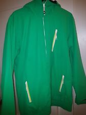 Used Like New Men's DC SHOES Green/Yellow Ski Snowboard Coat Winter M 2012 HTF