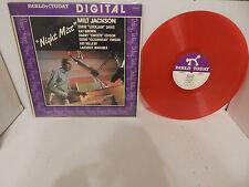 MILT JACKSON NIGHT MIST Eddie Lockjaw Davis Ray Brown 1981 Pablo RED VINYL LP NM
