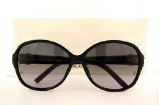 Mont Blanc MB 419 S 01b Black Womens Sunglasses Grey Gradient Lens Size 60