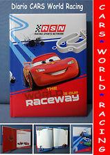 CARS WORLD RACING DIARIO SCOLASTICO STANDARD SCUOLA IDEA REGALO 20 x 14 cm