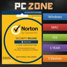 NORTON Internet Security 2018 - PC/Mac/iOS/Android - 1 Year - 5 Devices Download