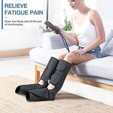 Foot Leg Massager for Circulation with Heat, Air Compression Therapy Device