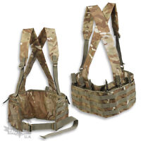 MTP / MULTICAM BANDOLIER CHEST RIG AMMO POUCH BRITISH ARMY AMMUNITION MILITARY