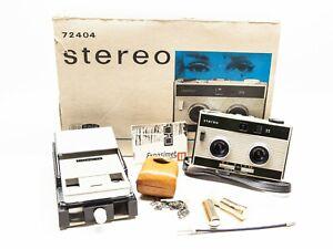 RARE - MEOPTA Stereo 35 camera, cutting device, ORIGINAL BOX