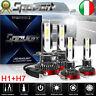 H1+H7 110W LED Lampadine del Faro Kit Mini Bulbi  Luci Bianco 6000K 26000LM Auto
