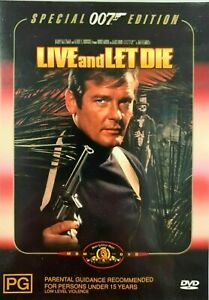 007 : James Bond : Live And Let Die : NEW DVD * FREE EXPRESS POST *