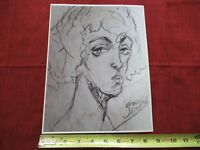 VINTAGE RARE PHOTO of ART of EGON SCHIELE AUSTRIAN PAINTER KLIMT protege #lob-B