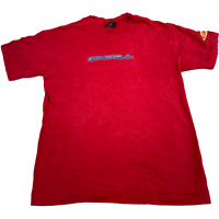 VINTAGE O'neil Mens T Shirt Small Red Logo Spell Out Graphic Tee