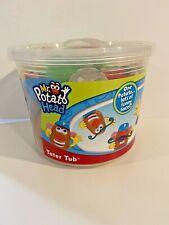 Playskool Mr. Potato Head Tater Tub Funny Faces 15 Plus Pieces